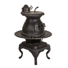 Wood/Coal Antique potbelly pellet cast iron stove