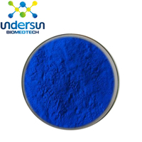ISO, Kosher,GMP Factory supply Blue Spirulina/ Chloella Phycocyanin Spirulina Powder