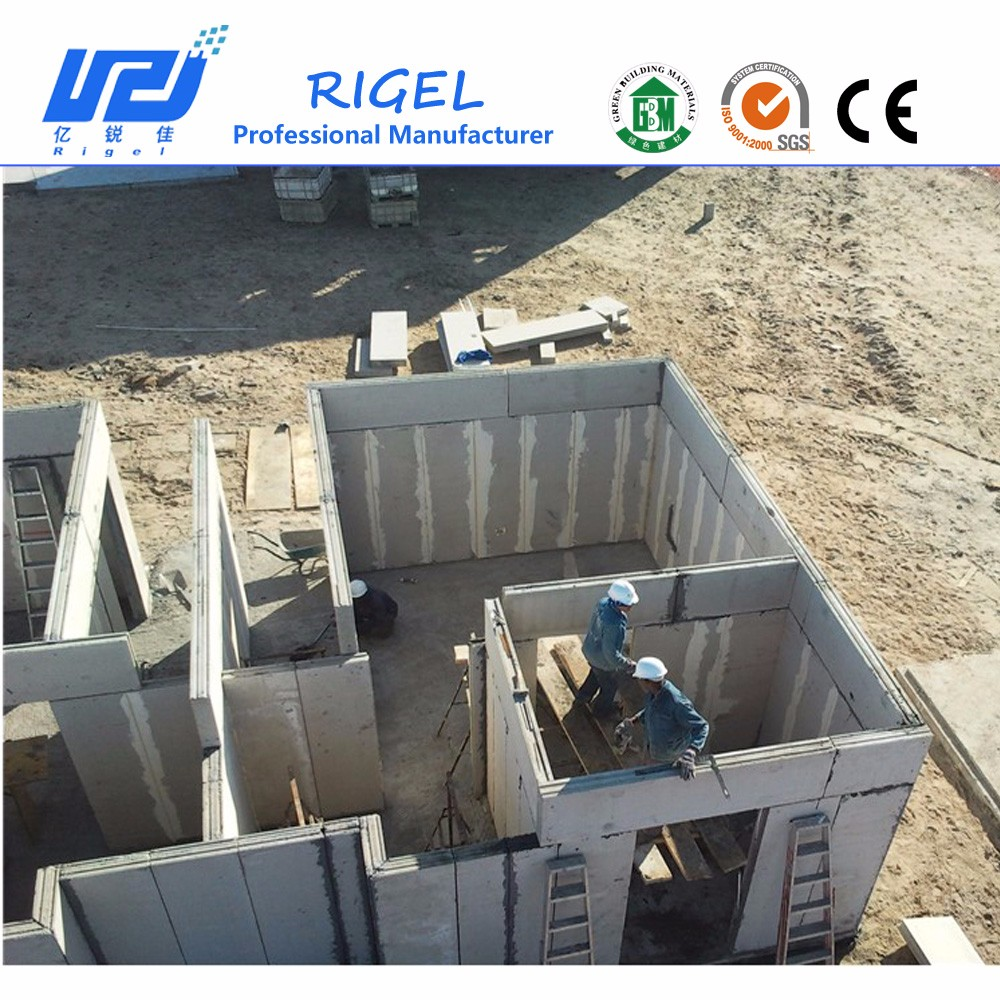 Insulated eps cement sandwich wall panel