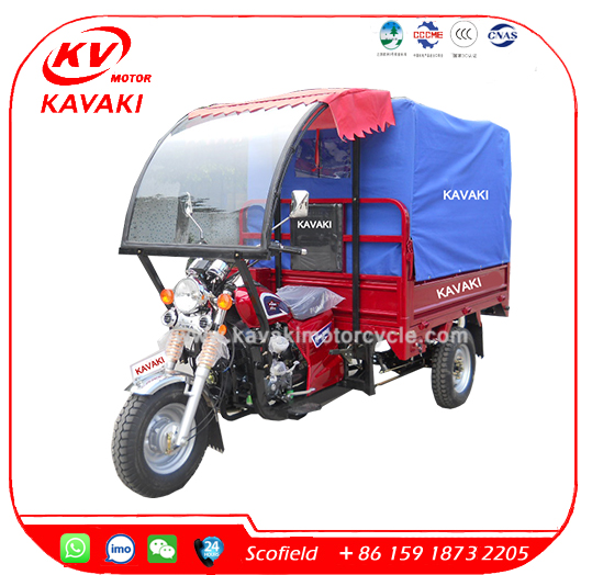 200CC Passenger Enclosed Cabin 3 Wheel Motorcycle Tricycle