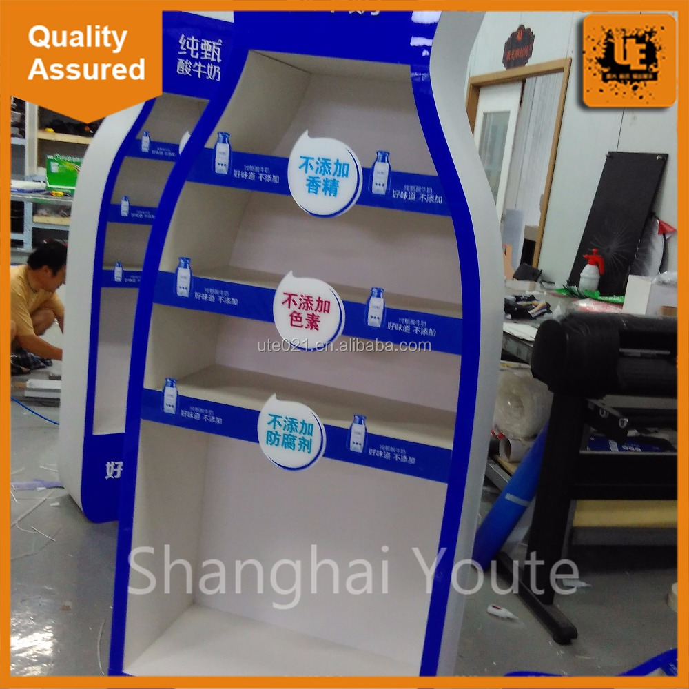 Advertising custom artwork pop up promotion counter printing