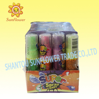Super Sour Spray Liquid Candy