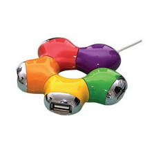 Promotional 4 Port Star USB Hub