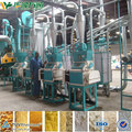 Hot sale in Zambia white corn maize milling machine