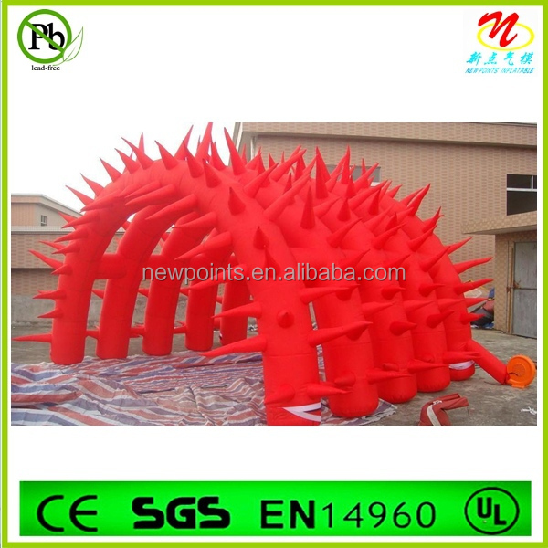 Cheap special model red advertisement Inflatable tent made in China