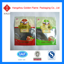 FDA & SGS approvable customized plastic composite nuts packaging bag with printing