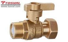 Brass Check Ball Valve For Water Meter