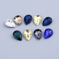 2015 factory price crystal drop pendant jewelry beads