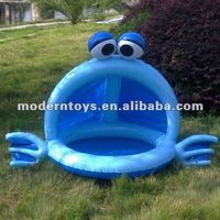 PVC inflatable swim pool with frog shape