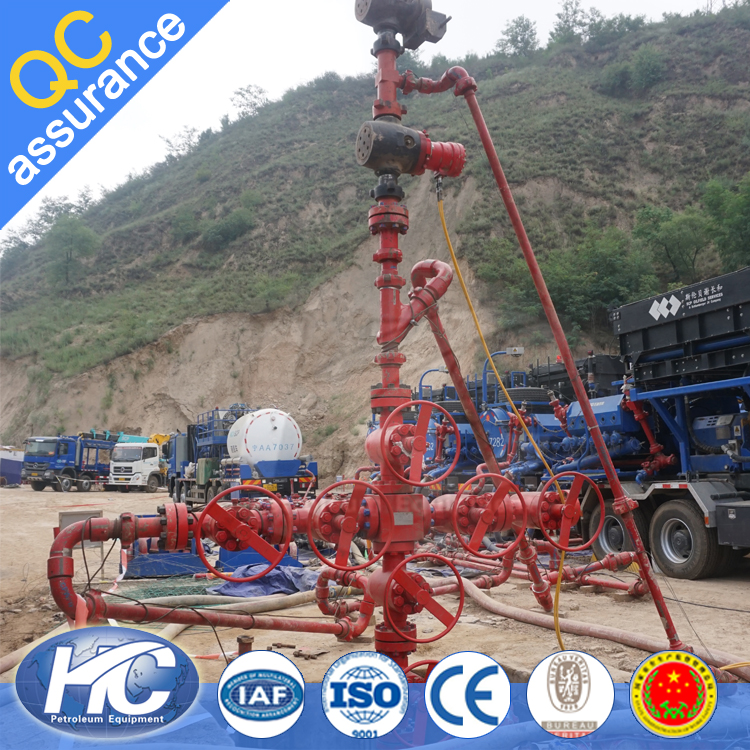 Wellhead equipment for oilfield / X-mass tree / gas well X'mas tree made in china