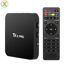Factory Android 6.0 TX3 Pro S905x Smart Tv Box Web Browser Internet Tv Box Quad Core Wifi Set Top Box