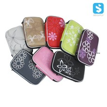 Printed 2.5inch PU Mobile External Hard Drive Bag,Storage Case,Cable Bag