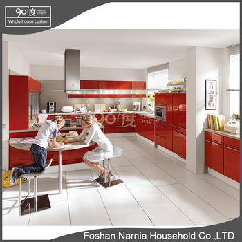 city design lacquer style melamine finish modern kitchen cabinet