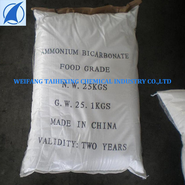 Food Grade Ammonium Bicarbonate Used For Biscuits