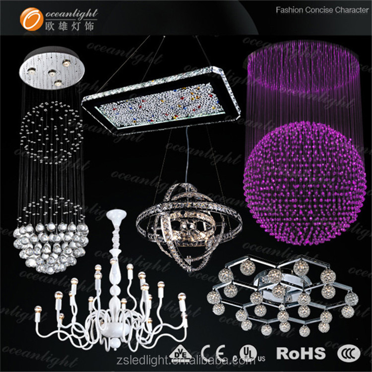 crystal pendant light bulk buy from china hanging crystals bulk chandelier ,modern crystal chandelier OM6