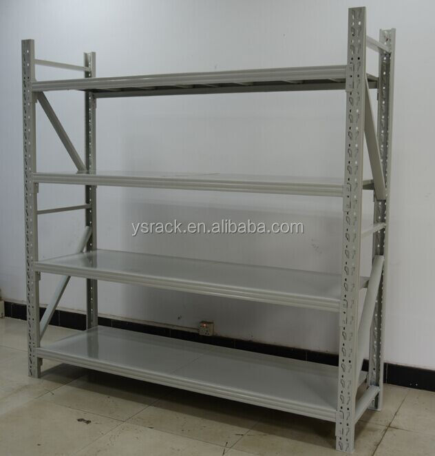 Warehouse Used Steel Light Duty Display Shelving Rack