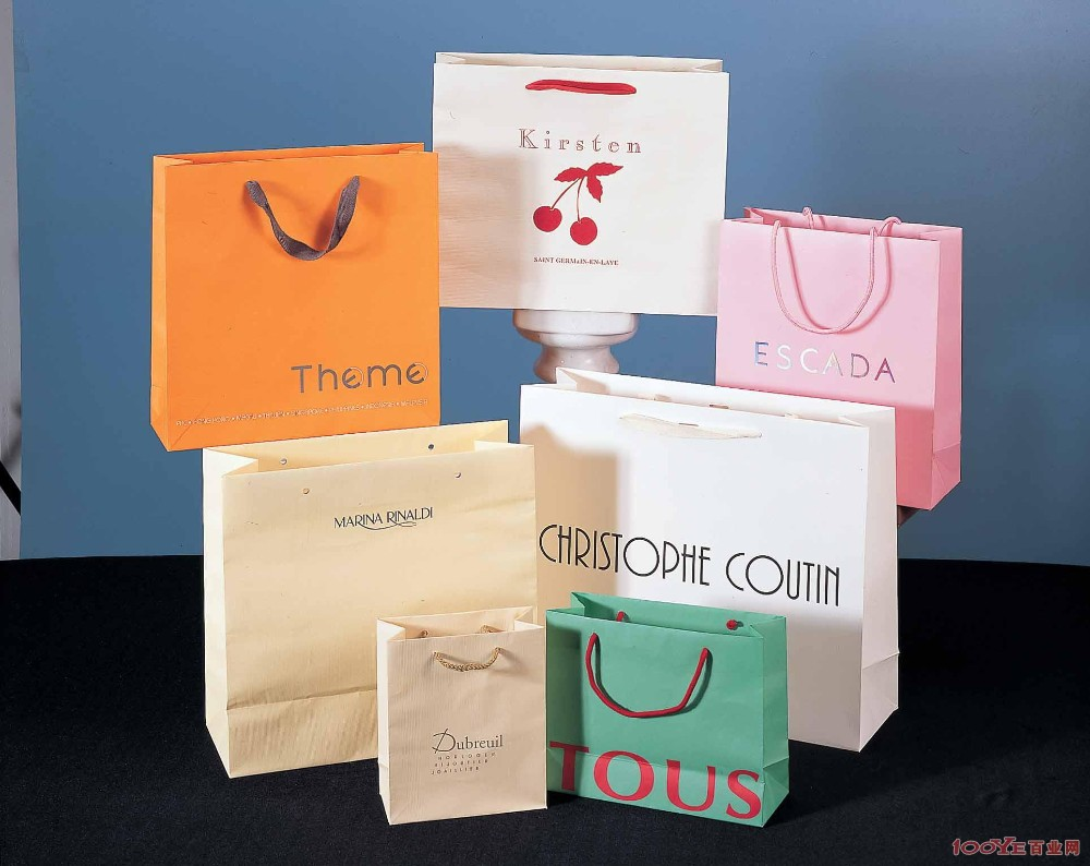 plain cheap brown paper bags with handles,good quality and cheap price professional colour printing in China,convenient and environment friendly paper bags
