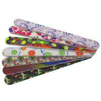 Customized nail files crystal foam files emery boards wholesale