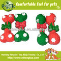 christmas pet latex toy,squeaky dog toys