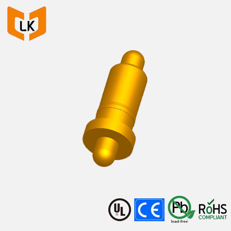 high temperature resistance and waterproof bouble head aviation connector pogo pin