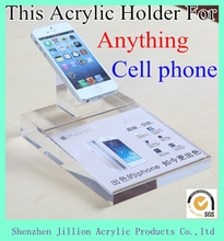 with paper picture holder top grade clear acrylic cell phone holder diplsay stand