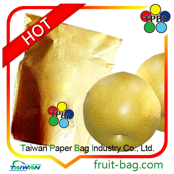 fruit growing paper bag for pear