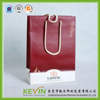 hot sale good quality custom made paper bag for shopping
