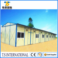 Lowest price prefabricated steel structure modular house/husing