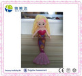 Custom Stuffed Beautiful Plush Cloth Mermaid Doll