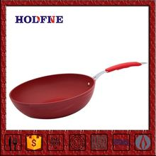 Manufactory Selling Nonstick with Soft handle Easy Cooking Air Frying Pan