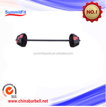 High quality adjustable sand barbell /cement barbell/straight barbell