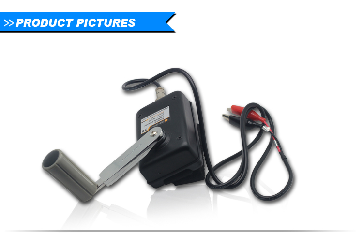 20W Emergency hand crank portable power source