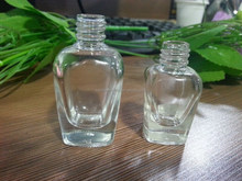 7-14ml classics shape empty glass liquor bottle with cap and brush