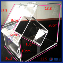 New style fashion plexiglass display plastic candy dispenser mini acrylic candy bins wholesale