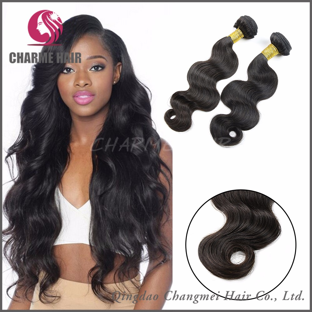100% Tangle Free Virgin Remy Cheap Brazilian Hair Weaves