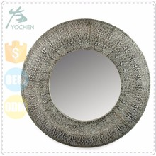 Old style classic round shape cheap vintage mirror