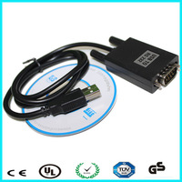 Black PL2302 mini micro usb to serial rs232 cable driver