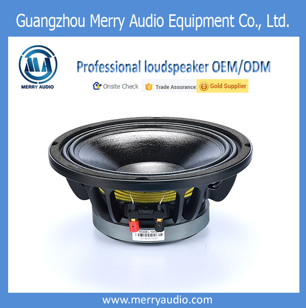 outdoor dj bass ferrite magnet woofer audio speaker 10 inch, active dj power speaker professional mid range long throw disco dj