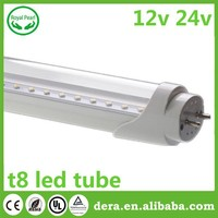 led fluorescent tube ul tuv 16w 4ft 12v 24v t8 led red tube tube8