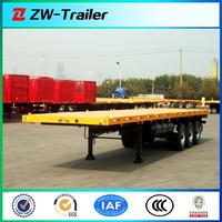China have a competitive advantage 2 axle container vessels for sale (skeleton type or flat type for choose)