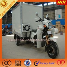 Special enclosed cargo box for three wheeler/ Heavy loading for 3 wheeler tricycle