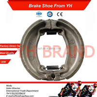 OEM WY125 brake shoe motorcycle, high friction coefficient