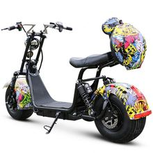 2018 Morakot Fat Tire 48V 500W HIgh Quality Vespa Style Multicolor Options Electric Scooter/Motorcycle with Battery BP14