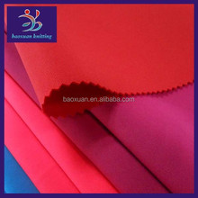 Spandex scuba double knit polyester fabric wholesale