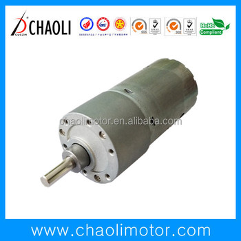 31mm 12v spur gearbox motor CL-G37-RS545 for auto parts soft towel machine
