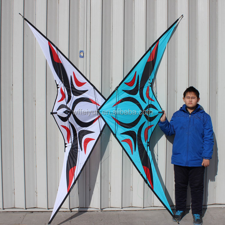 Chinese Style dual lines stunt kite for sale large 2.7m carbon new
