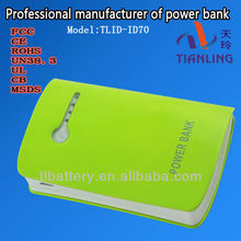 Portable Universal Power Bank For Mobile Phone Charger I Phone/i Pad/camera Mobile Power Bank Mocle With Free Oem Logo