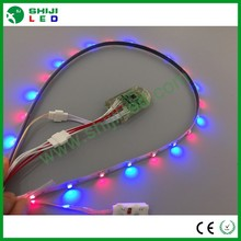dc5v smart addressable apa102 5050 rgbw led strip build in ic