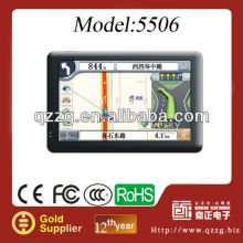 2012 new 5 inch gps navigation for car navi - Free map