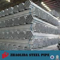 Top product cold drawn welded pre galvanized square steel tube